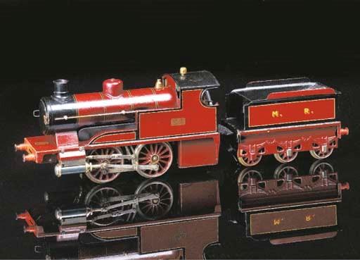 A Bing spirit-fired steam MR 0