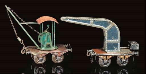 Early Bing two-axle wagons