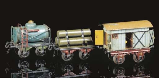 Early Bing two-axle goods wago