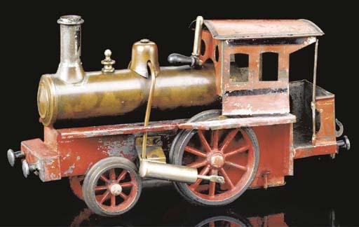 A Schönner spirit-fired steam