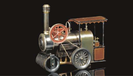 A Plank spirit-fired steam rol