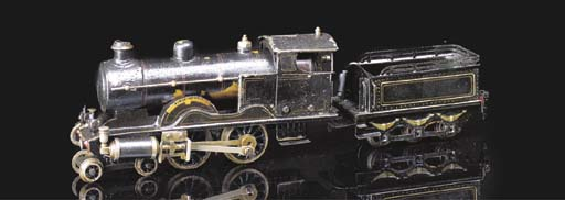A Märklin spirit-fired steam 4