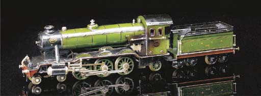 A Märklin spirit-fired steam 0