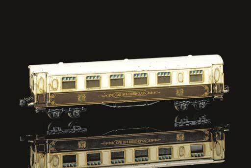 A Märklin four-axle bogie Pull