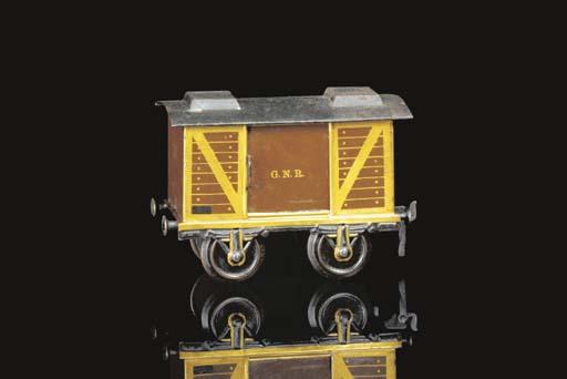 A Märklin Gauge II two-axle GN