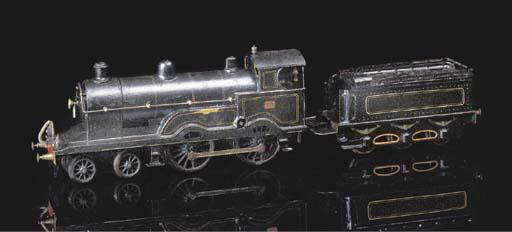 A Märklin Clockwork 4-4-0 (2 B