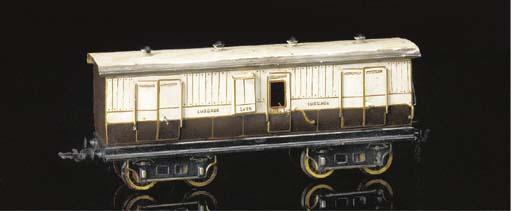 A Märklin LNWR four-axle bogie