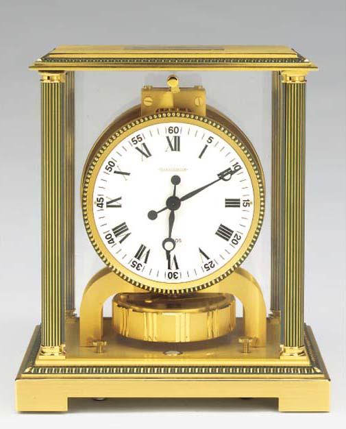 A Swiss parcel-bronzed brass A