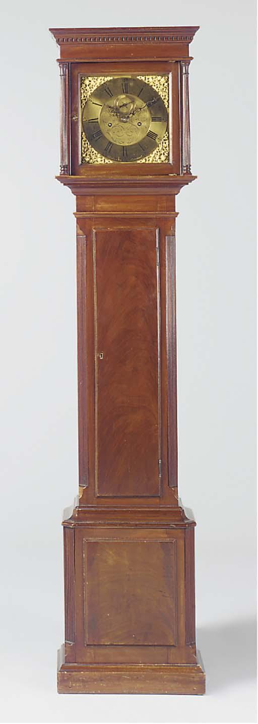 A Victorian small mahogany lon