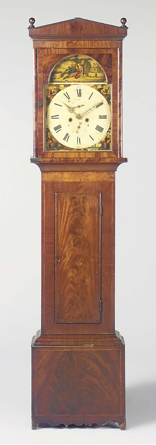 A Victorian mahogany and burr