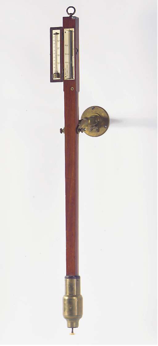 A Victorian mahogany marine st