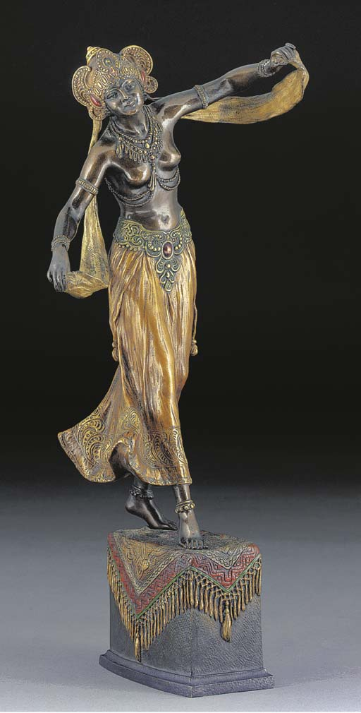 'ARABESQUE' A PATINATED AND CO