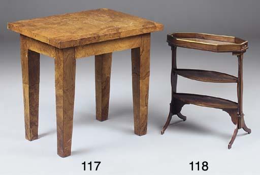 AN ELM SIDE TABLE