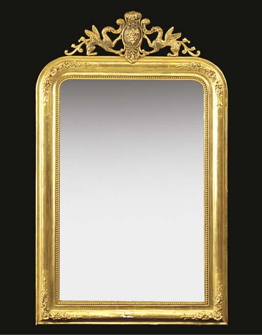 A FRENCH GILT AND COMPOSITION