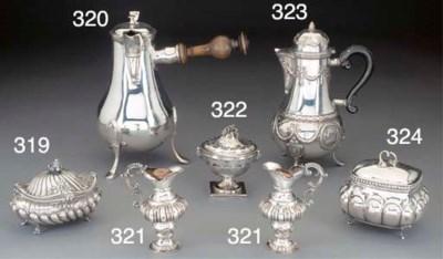 An Austrian Silver Incense Bur