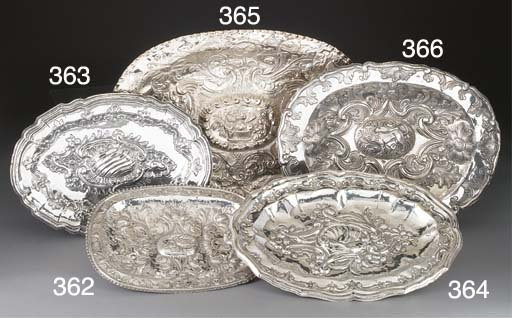 A Spanish Silver Dish