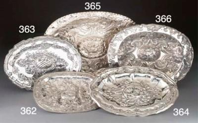 A Spanish Silver Dish;
