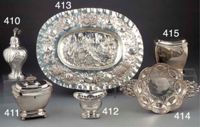 A Continental Silver Show Plat