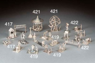 Six Various Dutch Miniature Si