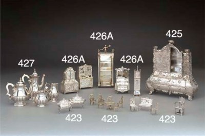 A Mixed Lot of Silver and Meta