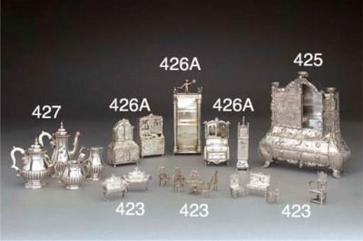 A Continental Miniature Silver