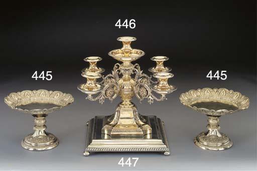 A Victorian Silver-Gilt Five-L