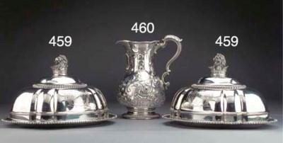 A George III Silver Beer Jug