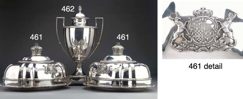A Pair of Geroge IV Silver Mea