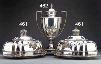 A George III Silver Coffee Urn