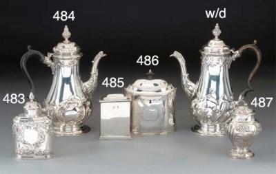 A George I Silver Tea Caddy