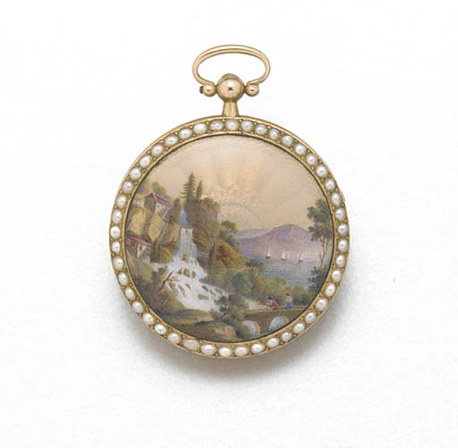 AN EARLY 19TH CENTURY GOLD, EN