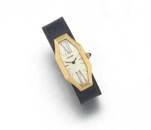 CARTIER: AN UNUSUAL 18ct. GOLD