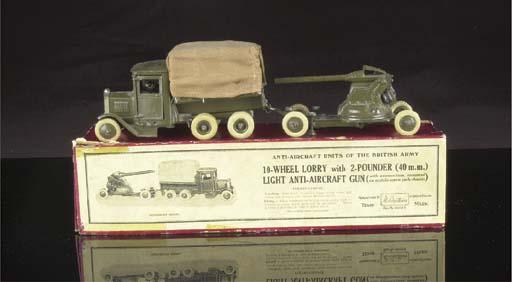 A Britains set 1832 10-Wheel L