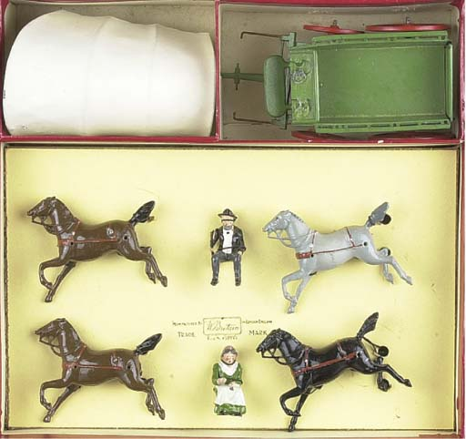 A Britains set 2034 Prairie Sc