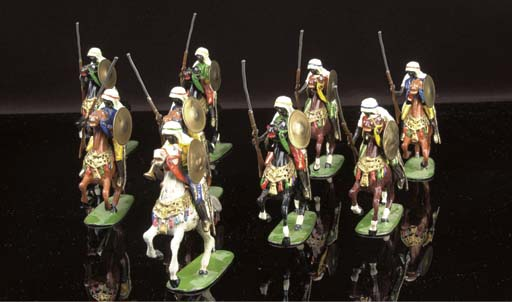Heyde 90mm mounted Arabs