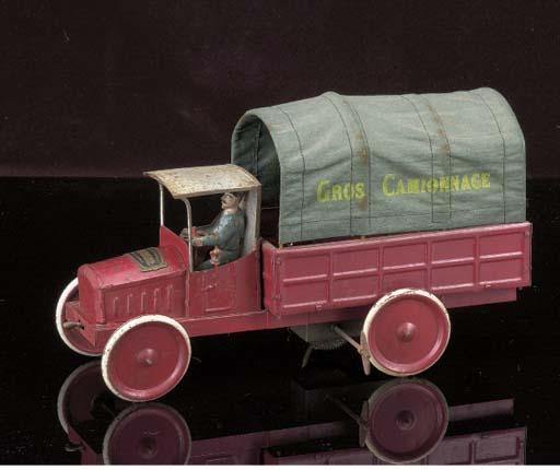 A Bonnet clockwork Gros Camion