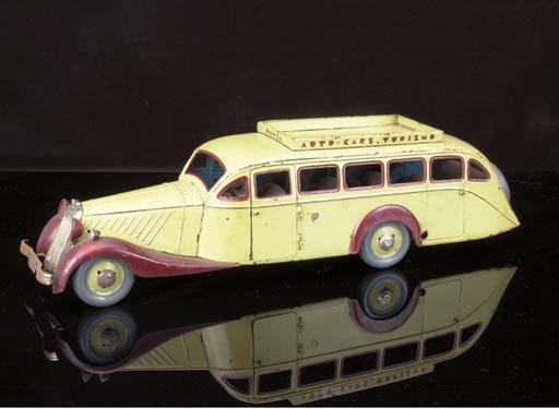A Rico clockwork 'Auto-Cars Tu