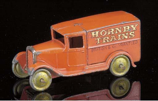 A pre-war Dinky lead 28a 'Horn