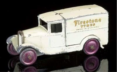 A pre-war Dinky lead 28e 'Fire