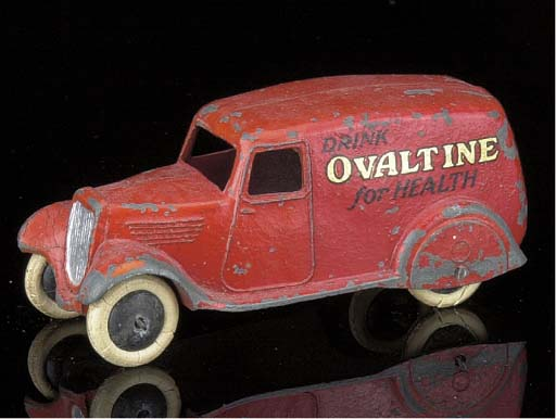 A pre-war Dinky 2nd type 28t r