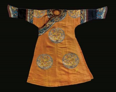 An imperial consort's long pao