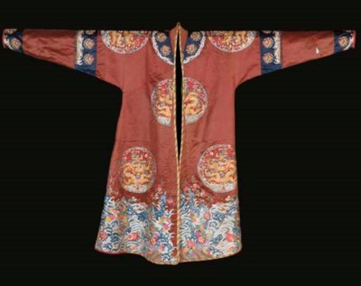An altered long gua robe of ch