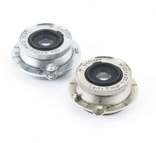 Elmar 3.5cm. f/3.5 lenses