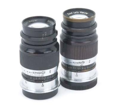 Elmar 9cm. f/4 lenses
