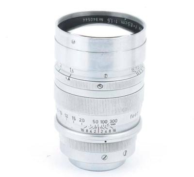 Summarex f/1.5 8.5cm. no. 9405