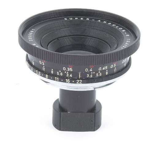Super-Angulon-R f/3.4 21mm. no