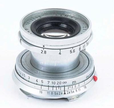 Elmar f/2.8 50mm. no. 1819005