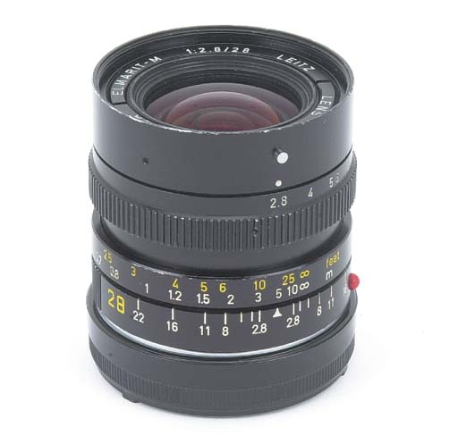 Elmarit-M f/2.8 28mm. no. 3038