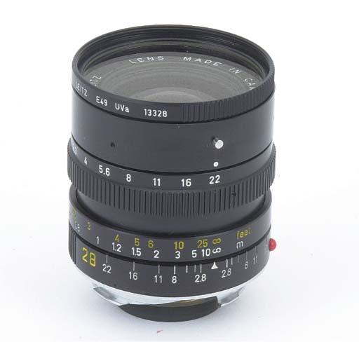 Elmarit-M f/2.8 28mm. no. 3154