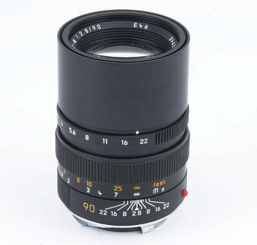 Elmarit-M f/2.8 90mm. no. 3463